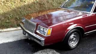 Buick Regal 82 interiors