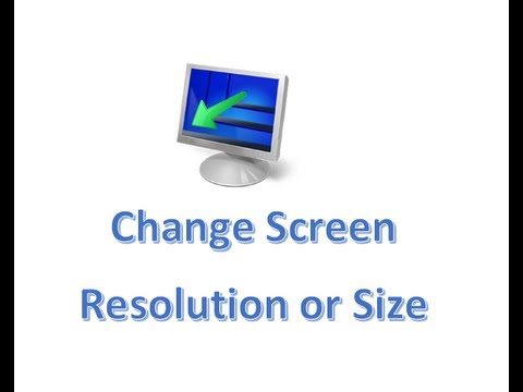 change window