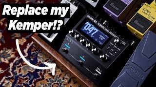 BOSS GT-1000 CORE Overview - Why all the HYPE!? BOSS GT1000 vs BOSS GT1000 CORE Digital Guitar Amp!