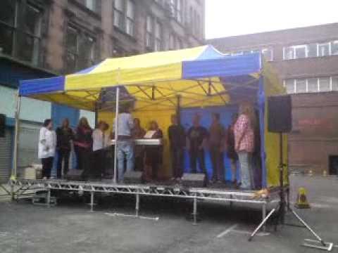 Glasgow Merchant City Festival 2009 - Choir 1/3