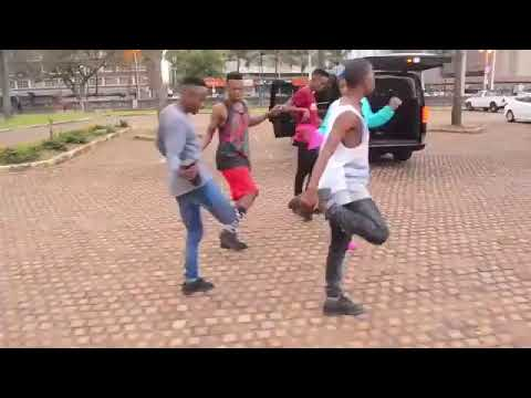 Babes Wodumo & Mampintsha dancing to new song Gandaganda