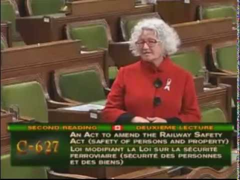 Speech on Rail Safety: Bill C-627, An Act to amend the Railway Safety Act
