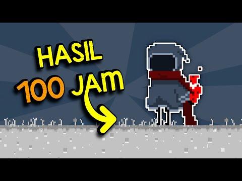 Hasil 100 JAM  Bikin GAME PLATFORMER!!! - Indonesian Game Developer