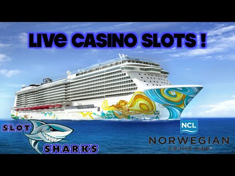 🚨 LIVE Slots 🎰 from Sea 🦈 Norwegian Getaway