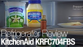 KitchenAid KRFC704FBS Counter Depth Refrigerator Review