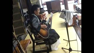 歌う僧侶 木山将です。 そして釣りばっかいでもおなじみのショーです。 ...