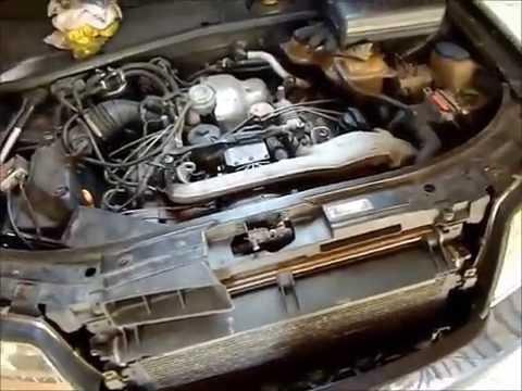 Removing Audi A6 4b injection pump Bosch VP44 (ENGLISH)