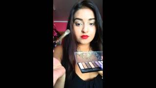 Gold Glitter Smokey Eyes, Ball/Prom Makeup Thumbnail
