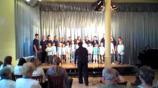 Schlossbergfest Bernburg 2011, Cantalino Kinder- und Jugendchor - Sommer, Sonne, Ferienzeit