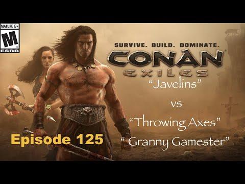 Javelins vs Throwing Axes Conan Exiles Episode 125 |
