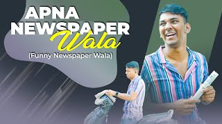 Funny Newspaper Wala | Warangal Diaries Comedy Video