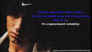 Eminem - Space Bound (Lyrics) Full HD