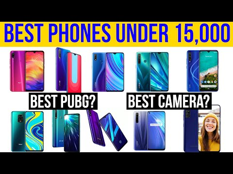 Best Phones Under 15K! Top 5 PUBG Gaming Phones | Top 5 Camera | Detailed Pros And Cons [Hindi]