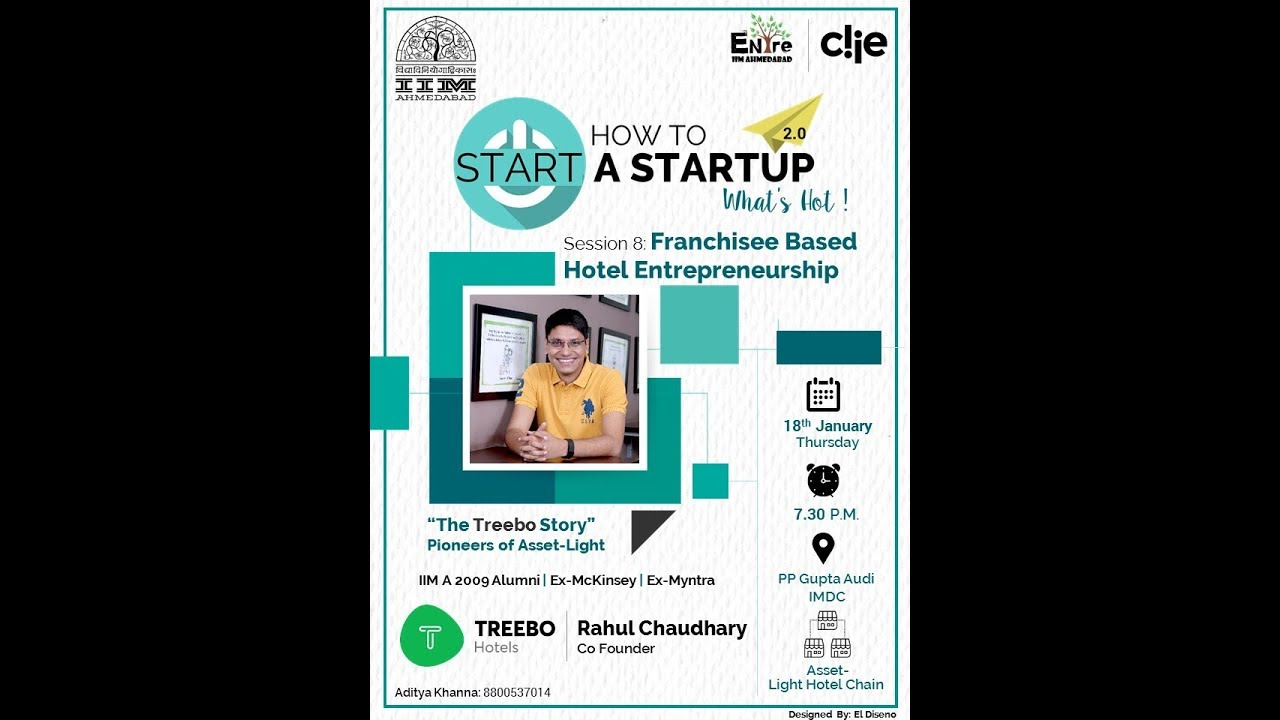 HTSAS 2.0 | Session 8: How To Start a Scalable Asset-Light Business | Rahul Chaudhary, Treebo Hotels