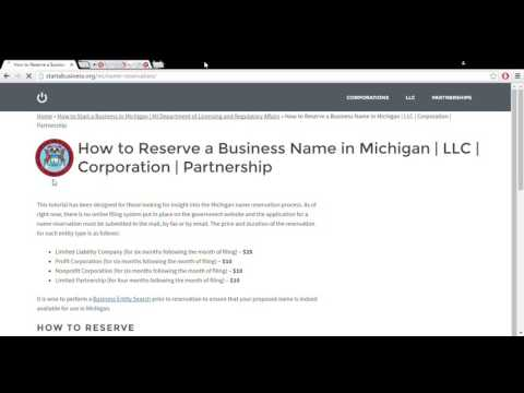 How to Start a Business in Michigan | MI Department of Licensing and Regulatory Affairs