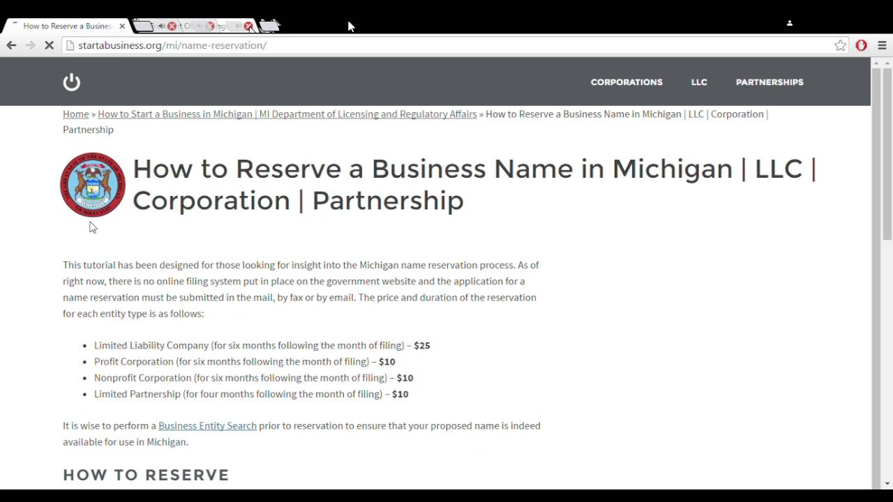The Greatest Guide To How To Start An Llc In Michigan