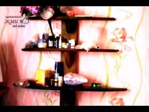 видео: Как сделать полку этажерку своими руками