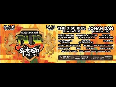 Disciples & Jonah Dan @ Dub Splash Festival #1 Kiev, Ukraine 2011