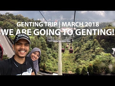 Genting Highland Malaysia | Shopping | Cable Car | Snow World Genting | Awana @ Resort World