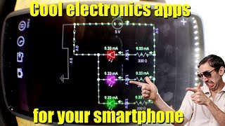 Electronics smartphone apps