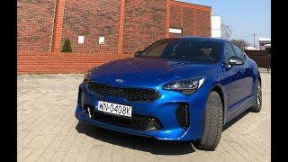 Kia Stinger GT w Polsce test Pertyn Ględzi