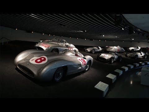 A Tour Of The Mercedes-Benz Museum
