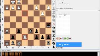 Key Moments in Chess History #8 (Steinitz vs Zukertort - 1st World Championship)