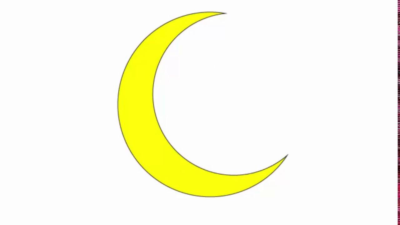 Crescent Moon Adobe Illustrator Cs6 Tutorial Quick And Easy