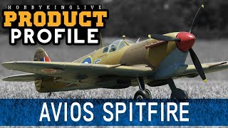 Avios Spitfire Mkvb Super Scale 1450mm Warbird - Hobbyking Product Profile