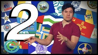 Largest cities in the USA summarized (PART 2) Geography Now!