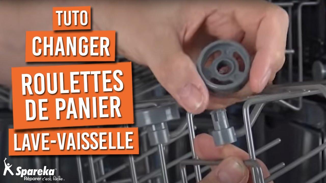 changer roulette panier lave vaisselle
