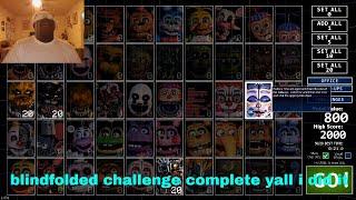 ultimate custom night blindfolded challenge complete thumbnail