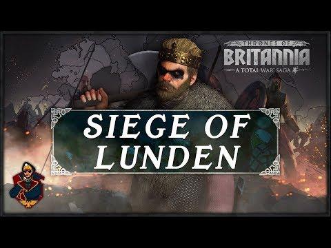 EPIC VIKING SEA INVASION OF LUNDEN! Thrones of Britannia Total War Sagas Gameplay