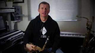 Saxophone Lesson - Beginner Saxophone - First Notes