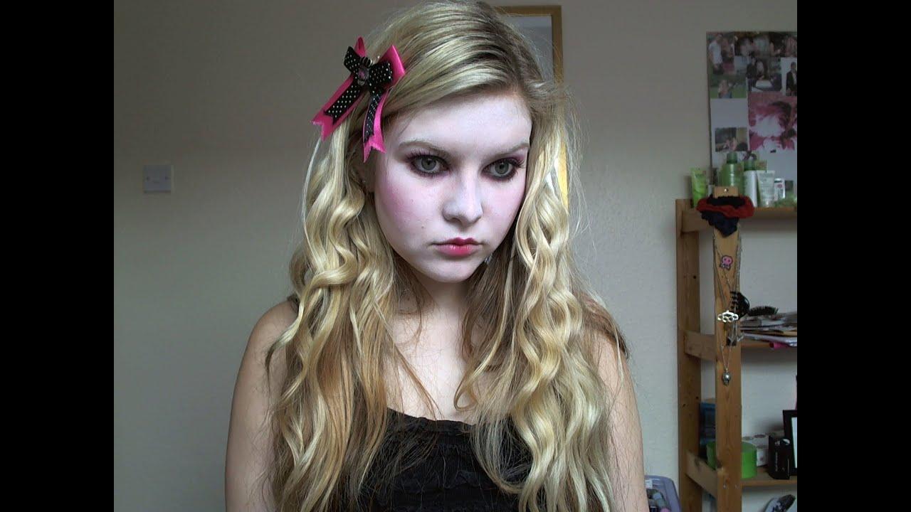 Porcelain doll makeup tutorial