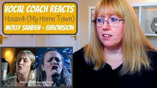 Vocal Coach Reacts to Molly Sanden 'Husavik' (My Home Town) My Marianne Eurovision