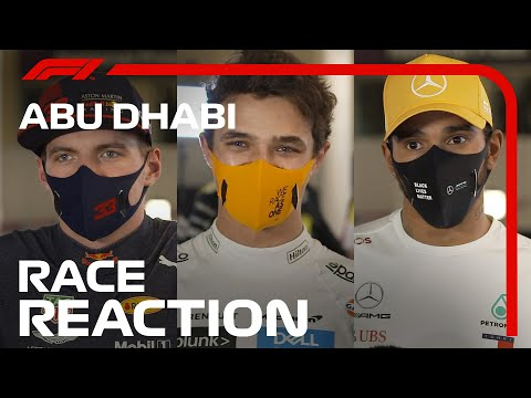 The Drivers' Post-Race Reaction | 2020 Abu Dhabi Grand Prix