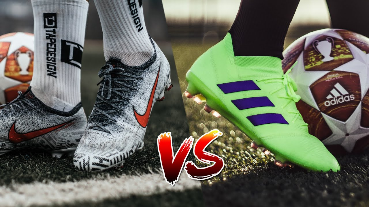 afdaad4c3 Neymar Jr VS Messi Boot Battle - Nike Vapor 12 vs Adidas Nemeziz 18.1