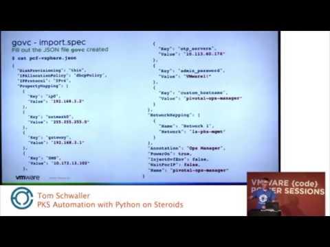 Python Vmware Automation
