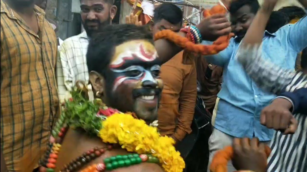 Puranapool Bonalu 2020 | Thalwar Shiva Pothuraj Theenmar Dancer 2020