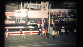 "Gapp & Roush's Pro Stock Maverick ""Tijuana Taxi"" at 1976 Winternationals"