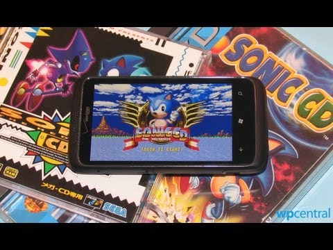 Sonic CD: Xbox Windows Phone Review