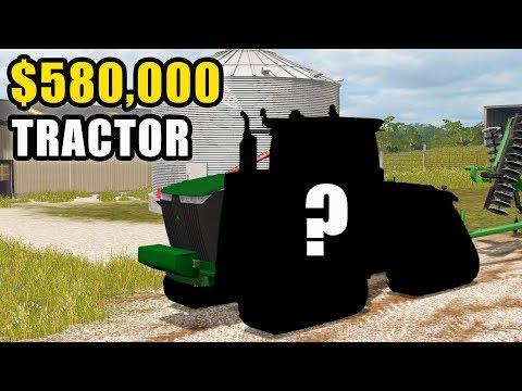 WE SPENT $580,000 ON THE NEW JOHN DEERE   FARMING SIMULATOR 2017 EP #79