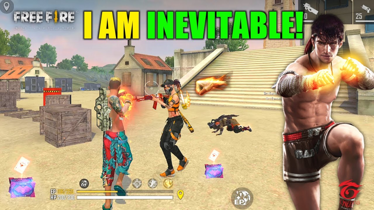 I am Inevitable Ajjubhai Fist Challenge Must Watch Gameplay - Garena Free Fire