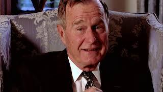 George H.W. Bush interview (1995)
