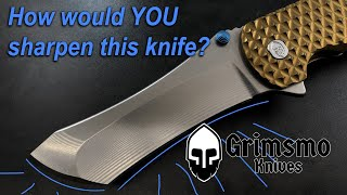 Can YOU sharpen a Grimsmo knife?