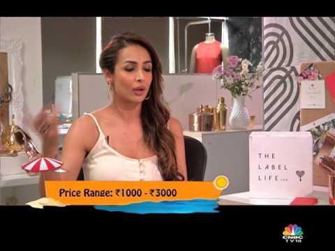 Malaika Arora Khan- Turns Entrepreneur With 'The Label Life' On Weekender, CNBC-TV18