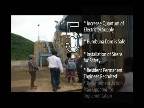 Bumbuna Hydro Electric Project Documentary