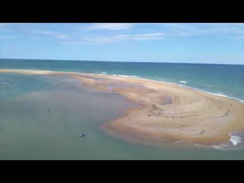 Drone Footage Reveals New Island off North Carolina Coast