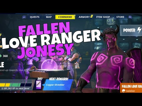 new-fallen-love-ranger-jonesy-build-gameplay!-hero-loadout-review-|-fortnite-save-the-world